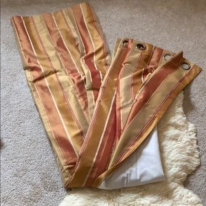 World Market Curtains - 2 Panels 54x84 in
